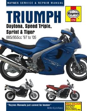 Triumph Fuel Injection Triples 1997-2005 - Kirjat - H3755 - 1